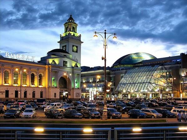 москве вокзал фото киевского в