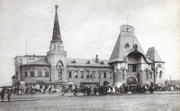 ярославский вокзал фото москва