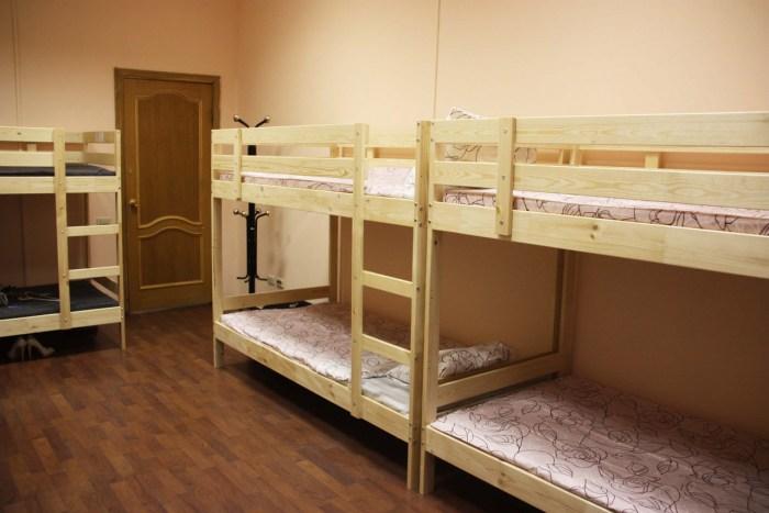 Хостел Orange Hostel на Новой Басманной в Москве, шестиместная комната