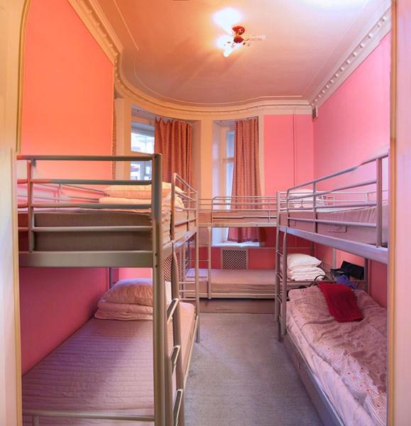 7 Sky Hostel на Мясницкой в Москве, душ