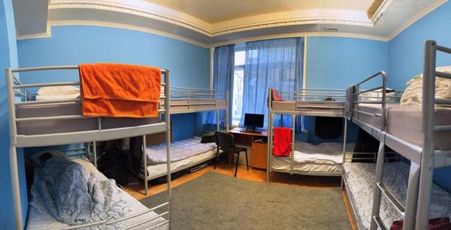 7 Sky Hostel на Мясницкой в Москве, холл