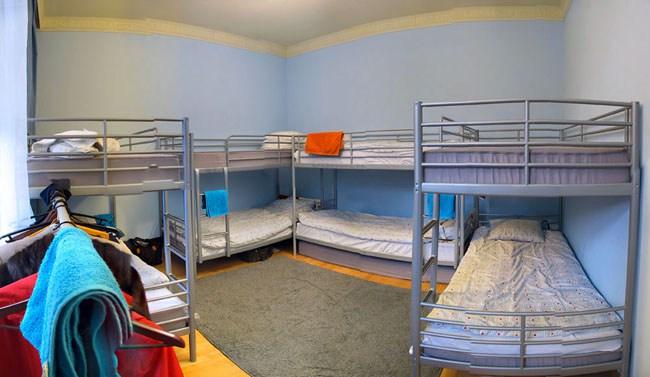 7 Sky Hostel на Мясницкой в Москве, розовая комната