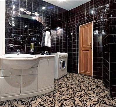 CapitalHostel на улице М.Ордынка в Москве, ванная комната