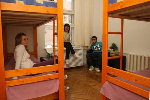 CapitalHostel на улице М.Ордынка в Москве, четырехместная комната