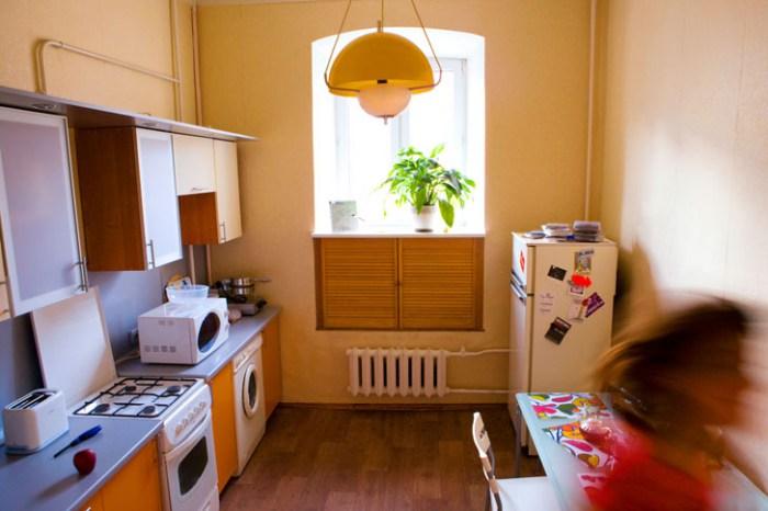 Хостел День и Ночь в Лучниковом переулке в Москве, кухня