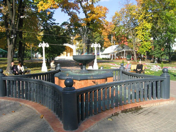 Фотография достопримечательности. Сад Эрмитаж в Санкт-Петербурге