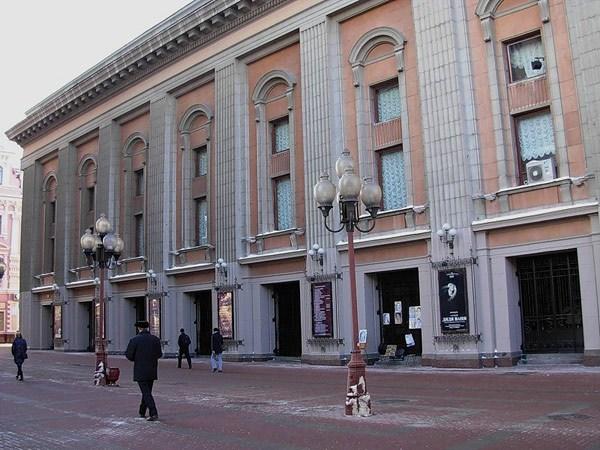 Фотография достопримечательности. Театр им. Е. Вахтангова в Санкт-Петербурге