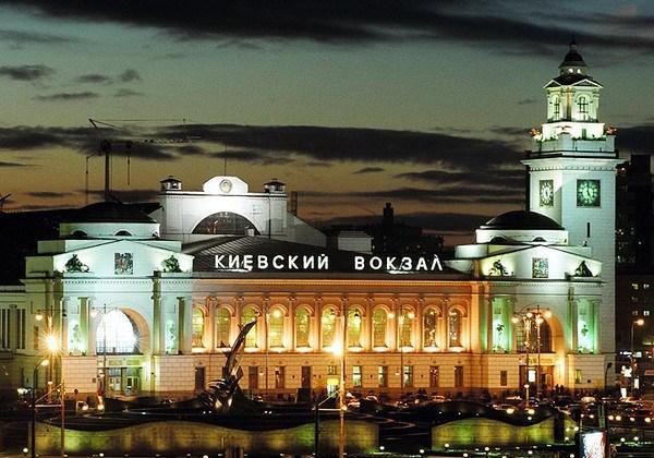 Фотография достопримечательности. Киевский вокзал в Санкт-Петербурге