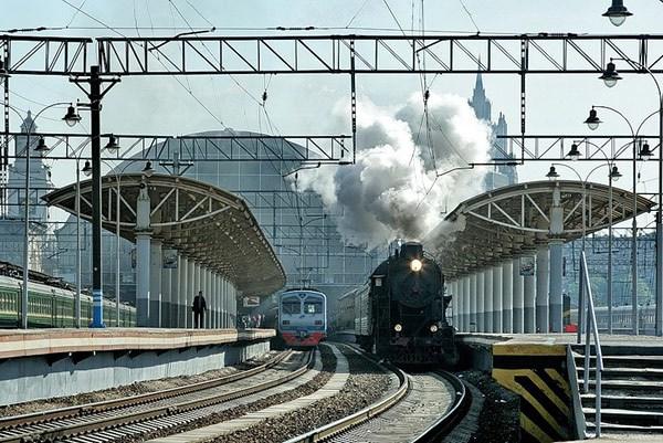 Фотография вокзала. Киевский вокзал в Санкт-Петербурге