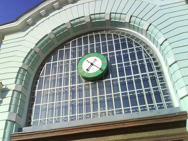 Фотография вокзала. Белорусский вокзал в Санкт-Петербурге