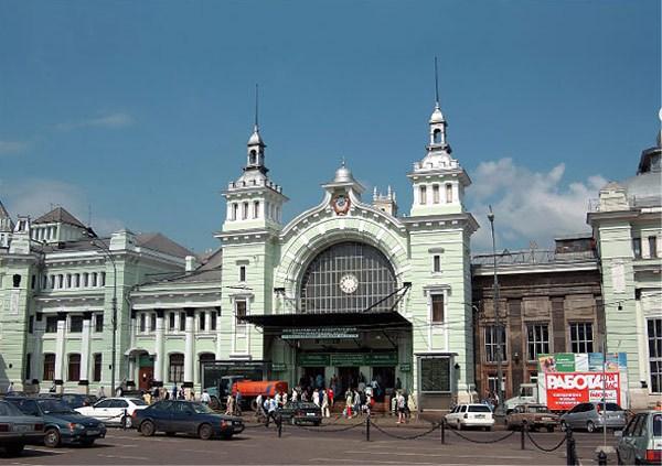 Фотография достопримечательности. Белорусский вокзал в Санкт-Петербурге