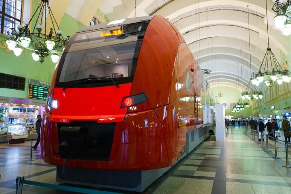 Фотография вокзала. Казанский вокзал в Санкт-Петербурге