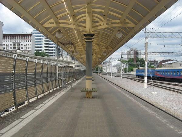 Фотография достопримечательности. Курский вокзал в Санкт-Петербурге