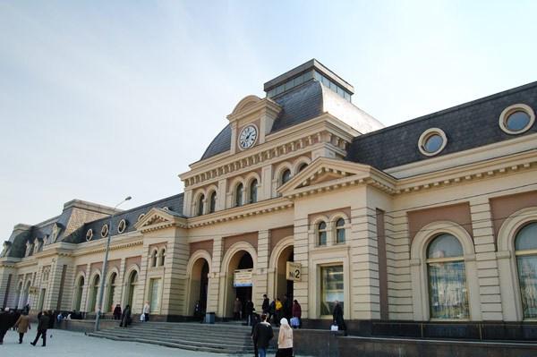 Фотография вокзала. Павелецкий вокзал в Санкт-Петербурге