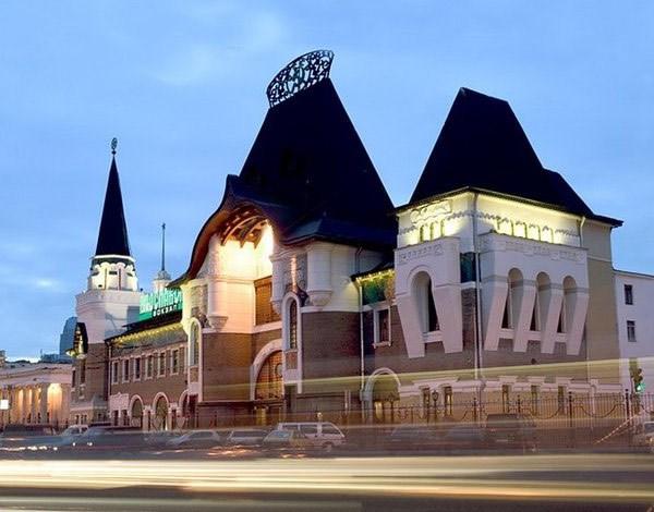 Фотография достопримечательности. Ярославский вокзал в Санкт-Петербурге