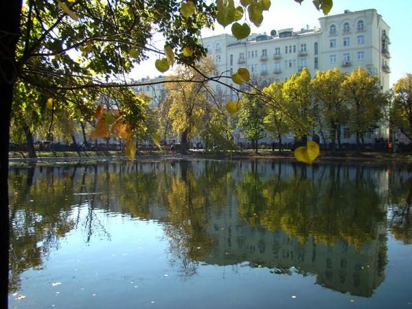 Фотография достопримечательности. Чистые пруды в Санкт-Петербурге