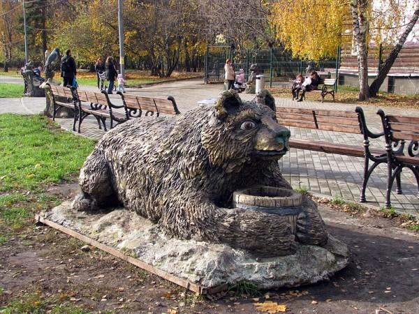Фотография достопримечательности. Парк Кузьминки в Санкт-Петербурге