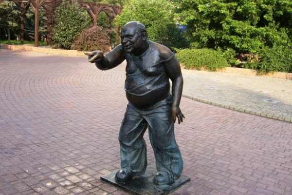 Фотография достопримечательности Памятник Евгению Леонову