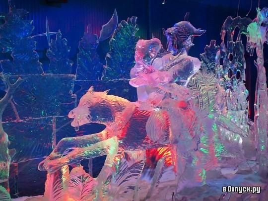 Фотография достопримечательности. Музей льда (Галерея русской ледовой скульптуры) в Санкт-Петербурге