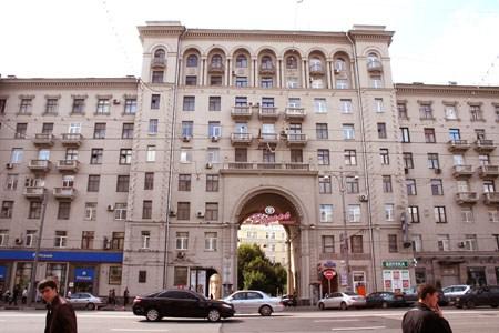 Хостел Moscow Style на Тверской в Москве, главный вход