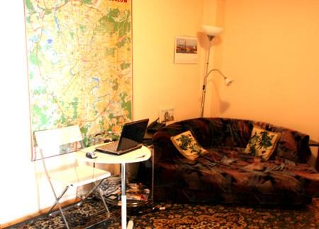 Хостел Moscow Style на Тверской в Москве, комната отдыха