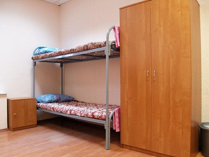 Хостел Гостиный двор на Полянке на Малой Якиманке в Москве, двухместная комната
