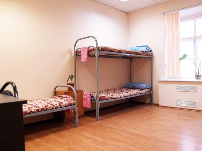 Хостел Гостиный двор на Полянке на Малой Якиманке в Москве, трехместная комната