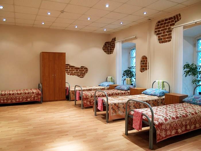 Хостел Гостиный двор на Полянке на Малой Якиманке в Москве, пятиместная комната