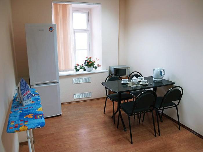 Хостел Гостиный двор на Полянке на Малой Якиманке в Москве, кухня