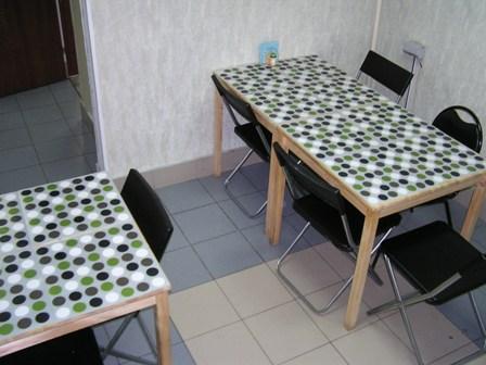 Хостел Весь Мир на Большой Тульской в Москве, кухня