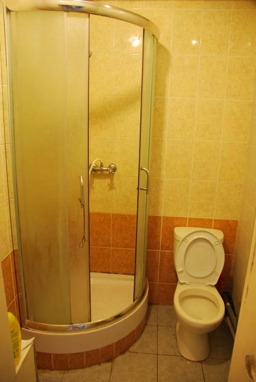 Хостел Matreshka Hostel в Неопалимовском переулке, ванная комната