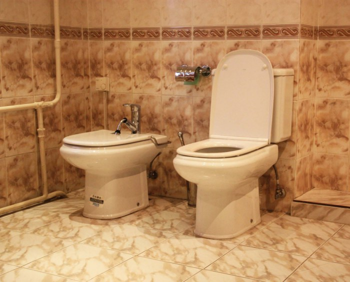 Хостел Orange Hostel на Новой Басманной в Москве, туалет