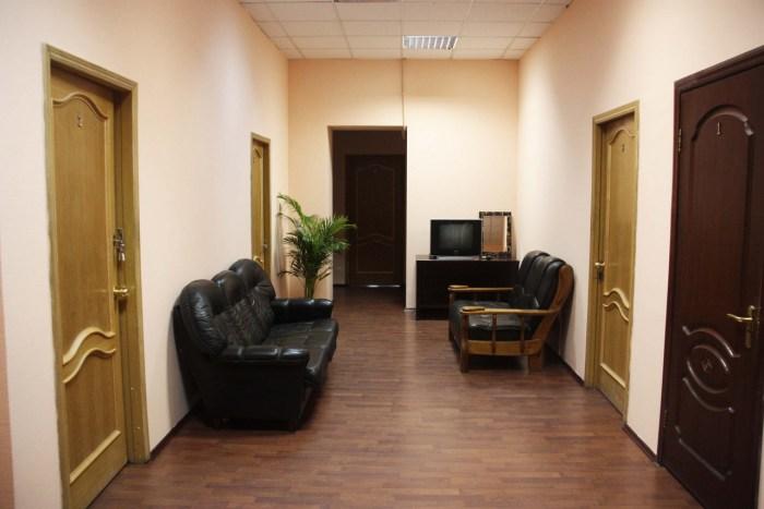 Хостел Orange Hostel на Новой Басманной в Москве, холл