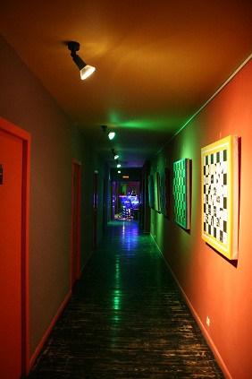 Хостел Артель в Театральном проезде в москве, коридор
