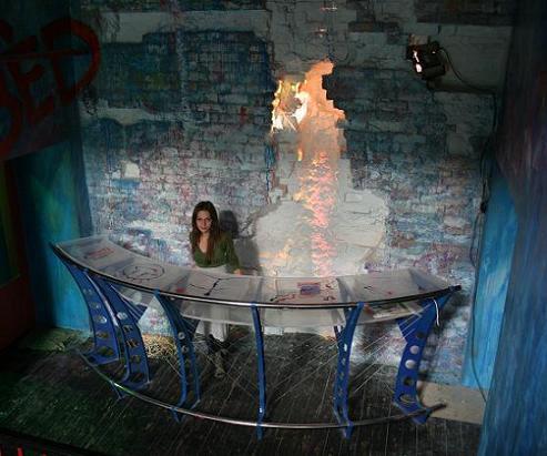 Хостел Артель в Театральном проезде в москве, ресепшен