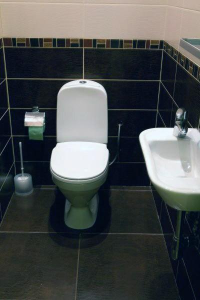 Хостел Fresh Hostel на улице Сретенка переулке в Москве,  туалет