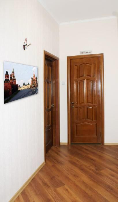 Хостел Ideal Hostel на Маросейке переулке в Москве, коридор
