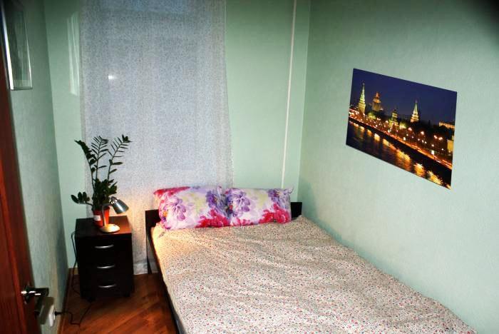Хостел Ideal Hostel на Маросейке переулке в Москве, двухместная комната