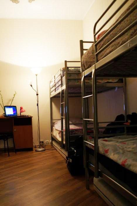 Хостел Ideal Hostel на Маросейке переулке в Москве, четырехместная комната