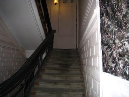Хостел Гагарин в Кривоколенном переулке в москве, лестница