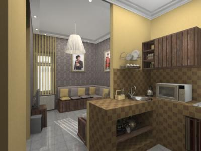 Хостел Comrade на Маросейке в Москве, кухня