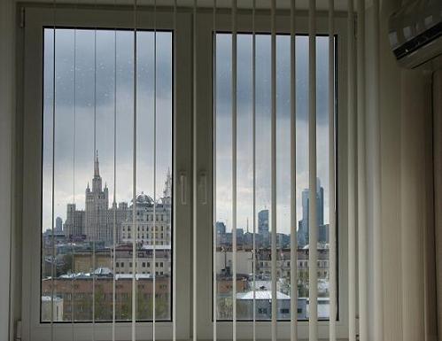 Хостел EESTI AIRLINES на Тверской в Москве, вид из окна