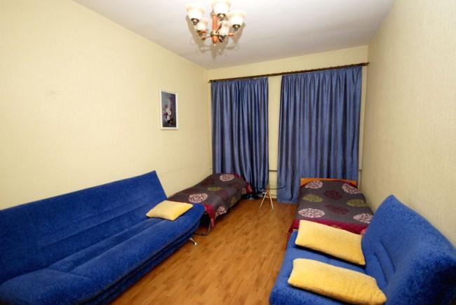 Двухместный номер в Yellow Blue Bus Hostel