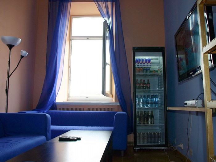 Хостел Trip and Sleep в Глазовском переулке, комната отдыха
