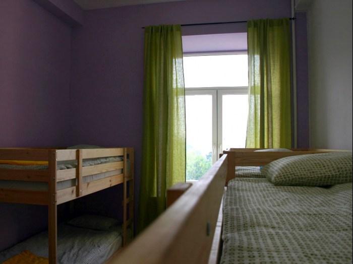 Хостел Trip and Sleep в Глазовском переулке, восмиместная комната