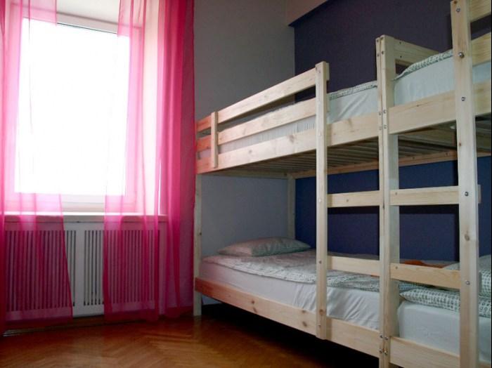 Хостел Trip and Sleep в Глазовском переулке, четырехместная комната