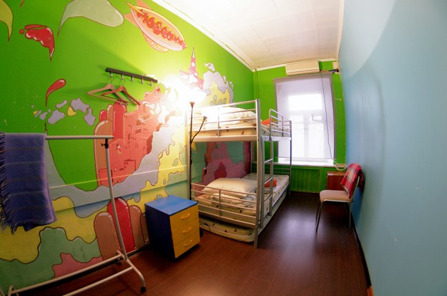 Фотография хостела. BANANAS Hostel в Санкт-Петербурге