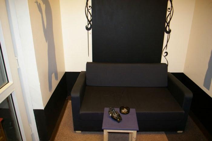 Хостел Новый Арбат на Большой Молчановке, комната отдыха
