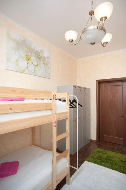 Шестиместный номер в хостеле Европа