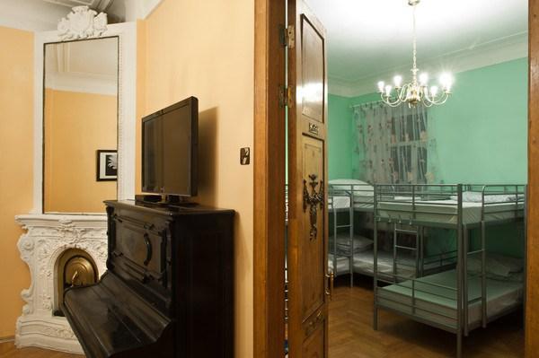 Central Hostel, гостиная